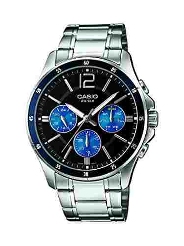 Casio Enticer MTP-1374D-2AVDF (A950) Analog Black Dial Men's Watch (MTP-1374D-2AVDF (A950))