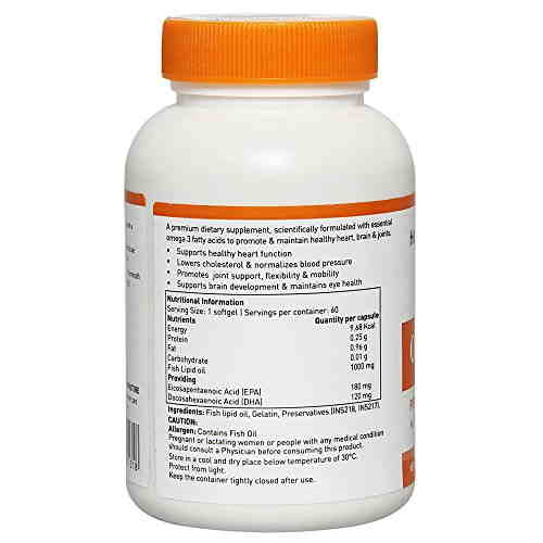 Healthviva Omega 3 Supplement (60 Capsules)