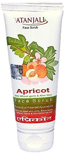 Patanjali Apricot Face Scrub, 60 GM