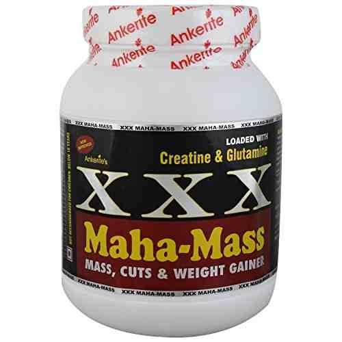 Ankerite XXX Maha Mass Gainer (500gm, Chocolate)