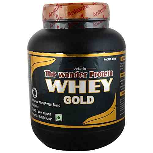 Ankerite Whey Gold Natural Powder (1Kg, Chocolate)