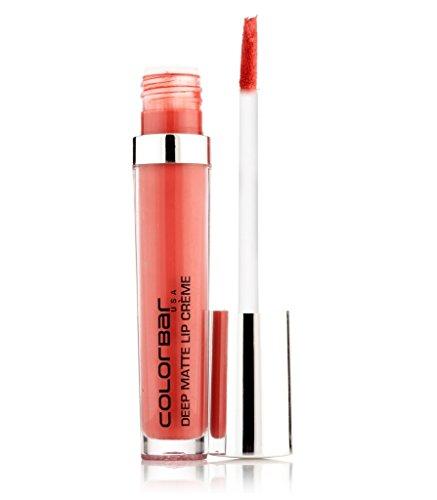 Colorbar Deep Matte Lip Creme Deep Peach 009