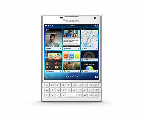 Blackberry Passport Black 32GB White Mobile