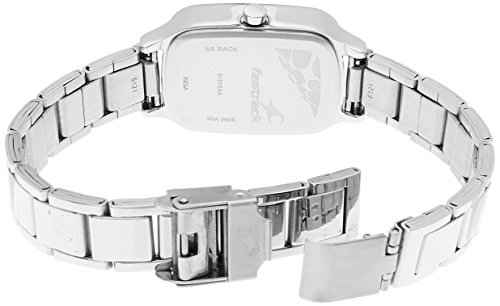 Fastrack 6121SM01 Analog Silver Dial Women's Watch (6121SM01)