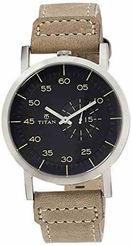 Titan 90026SL01J Analog Watch