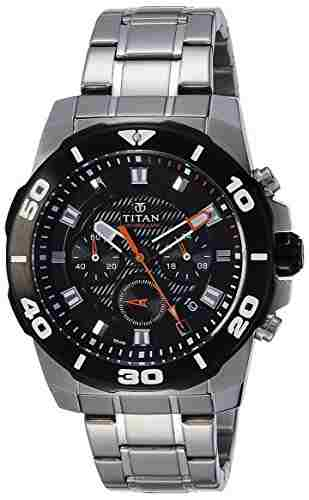 Titan Octane 90031KM01 Analog Watch