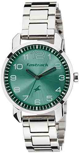 Fastrack 6111SM02C Analog Green Dial Women's Watch