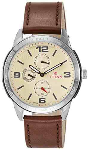 Titan 1585SL05 Purple Analog Watch