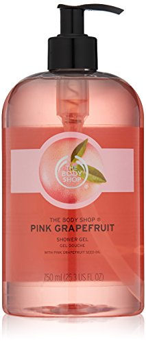The Body Shop Mega Shower Gel Pink Grapefruit 25.3 Fluid Ounce (Packaging May Vary)