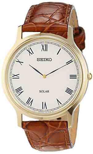 Seiko SUP876P1 Solar Analog Watch