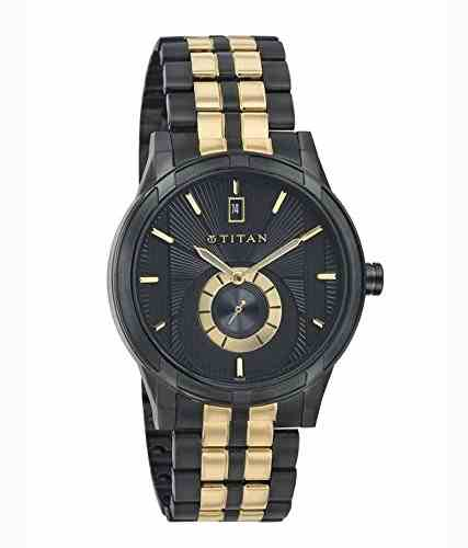 Titan NH1656KM01 Analog Watch