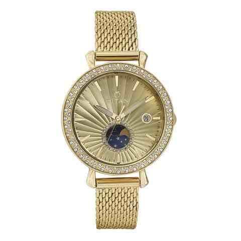 Titan 95015YM01J Analog Watch (95015YM01J)