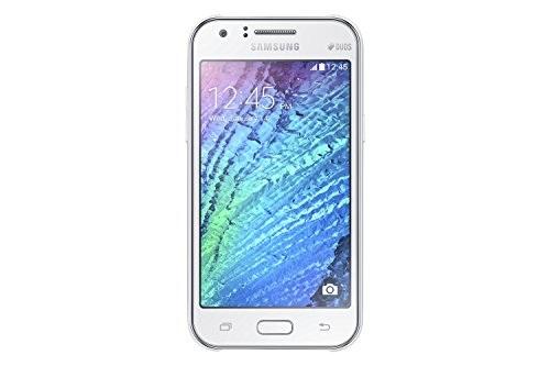 Samsung Galaxy J1 4G (Samsung SM-J120GZWDINS) 8GB White Mobile