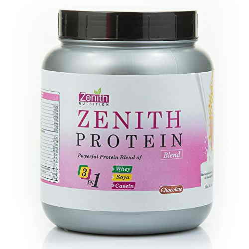 Zenith Nutrition Protein Blends (500gm, Chocolate)