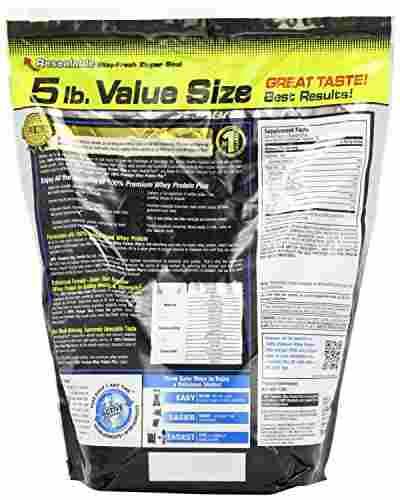 Muscletech 100% Premium Whey Protein Plus (2.26Kg, Strawberry)