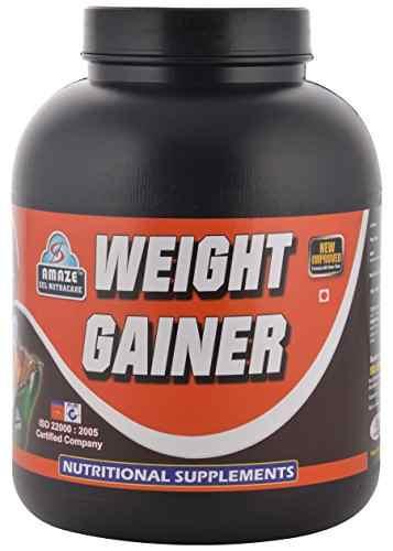 Amaze Weight Gainer (3Kg / 6.61lbs, Chocolate)