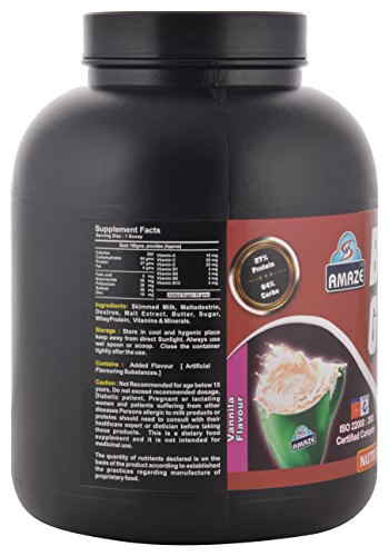 Amaze Body Grow (3Kg, Vanilla)