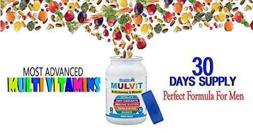 Healthvit Mulvit A To Z Multivitamins And Minerals (60 Capsules)