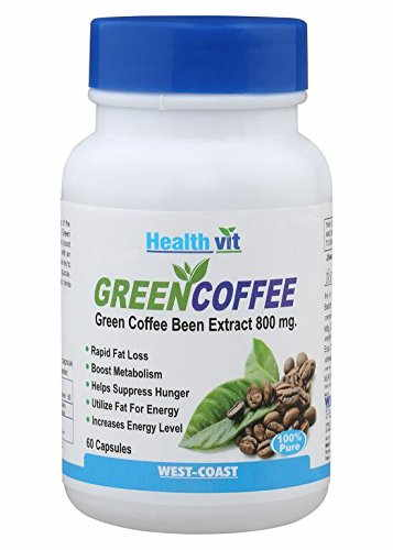 Healthvit Green Coffee Bean Extract (60 Capsules)