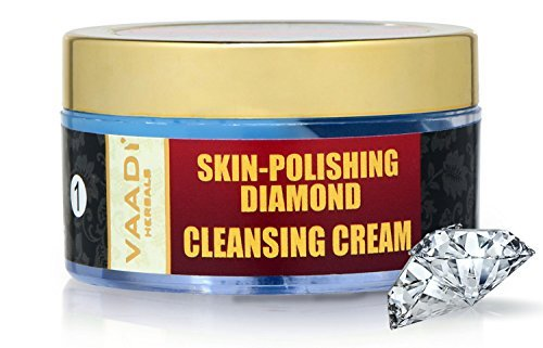 Vaadi Herbals Skin Polishing Diamond Cleansing Cream (50gm)