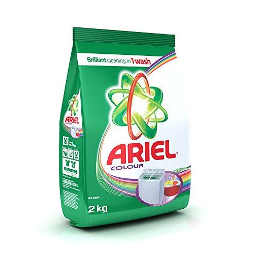 Ariel Colour Detergent Washing Powder, 2 KG