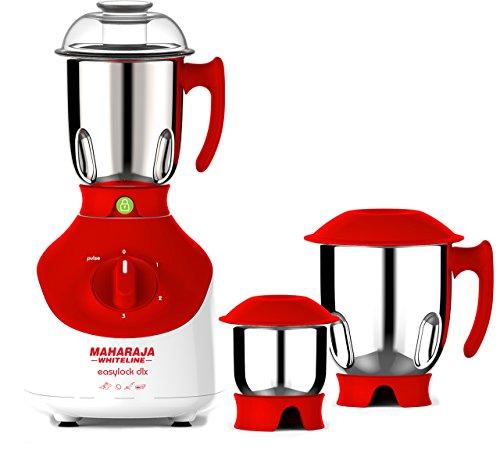 Maharaja Whiteline MX-149 Mixer Grinder, 3 Jars