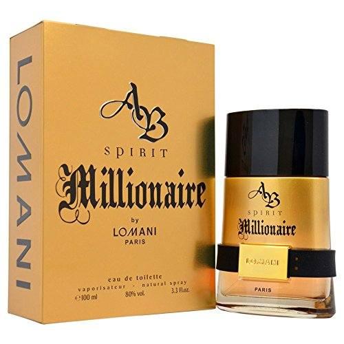 Lomani Ab Spirit Millionaire EDT Spray For Men, 100 ml