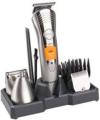 Kemei KM580A 7 in 1 Rechargeable Grooming Kit Trimmer