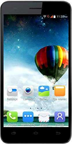 Karbonn Titanium Mach Two S360 8GB Black Blue Mobile