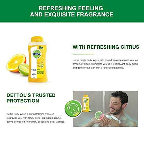 Dettol Fresh Body Wash, 250 ML