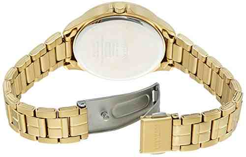 Citizen ED8142-51P Analog Gold Dial Women's Watch (ED8142-51P)