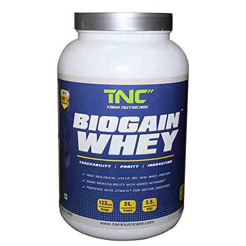 Tara Nutricare Biogain whey Protein (2Kg, Chocolate)