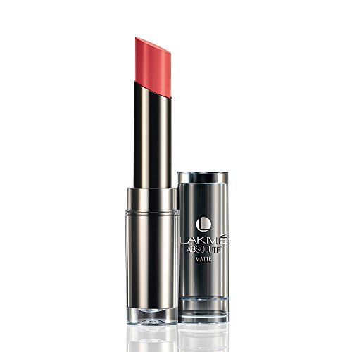 Lakme Absolute Matte Lipstick Peach Pout 3.7 GM