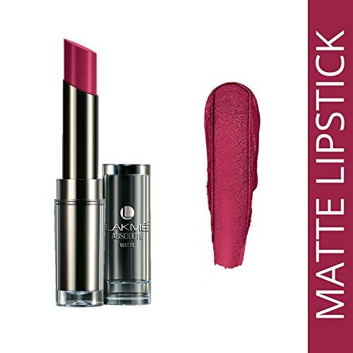 Lakme Absolute Matte Lipstick CL, Crimson Touch