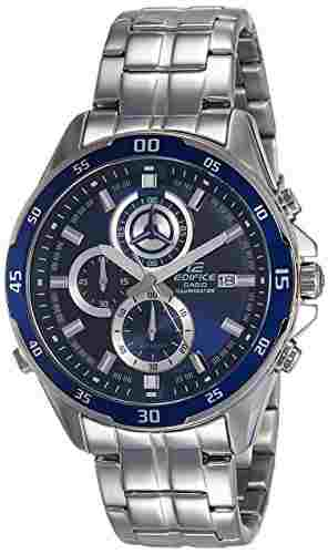 Casio Edifice EFR-547D-2AVUDF (EX239) Chronograph Blue Dial Men's Watch (EFR-547D-2AVUDF (EX239))