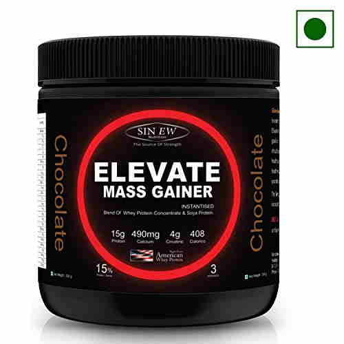 Sinew Elevate Mass Gainer (300gm, Chocolate)