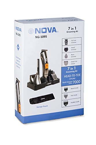 Nova NG1095 7 in 1 Grooming Kit
