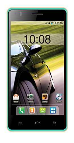 Intex Aqua Speed HD 16GB Blue Mobile