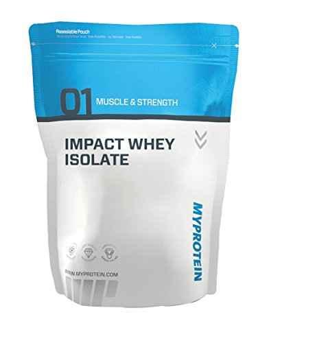 Myprotein Impact Whey Isolate (1Kg, Vanilla)