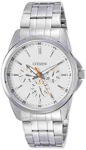 Citizen AG8340-58A Analog Display Japanese Quartz Silver Men's Watch (AG8340-58A)