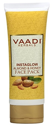 Vaadi Herbals Instaglow Almond And Honey Face Pack (120gm)