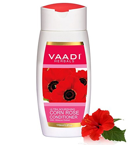 Vaadi Herbals With Hibiscus Extract Corn Rose Conditioner, 110 ML