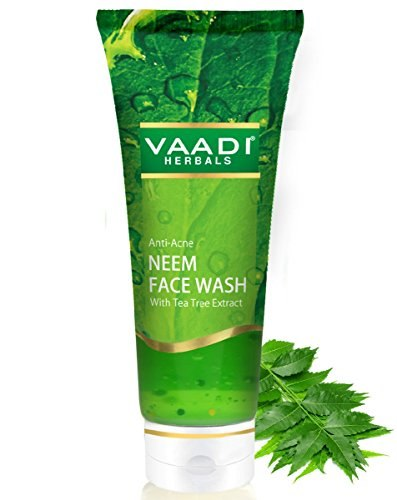 Vaadi Herbals Anti Acne With Tea Tree Extract Neem Face Wash (60gm)