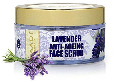 Vaadi Herbals Lavender Anti Ageing Face Scrub (50gm)