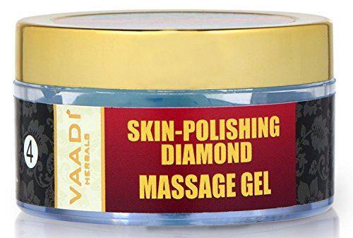 Vaadi Herbals Skin Polishing Diamond Massage Gel, 50 GM