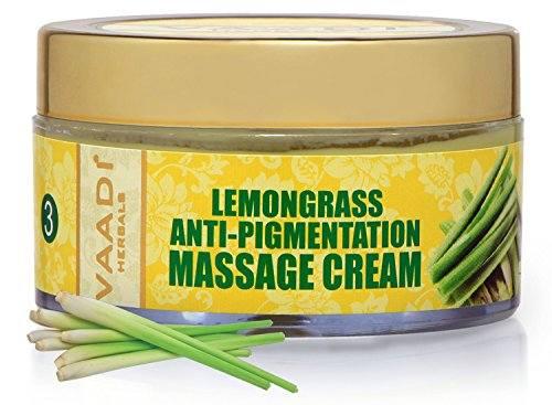 Vaadi Herbals Lemongrass Anti Pigmentation Massage Cream, 50 GM