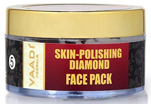 Vaadi Herbals Skin Polishing Diamond Face Pack, 70 GM