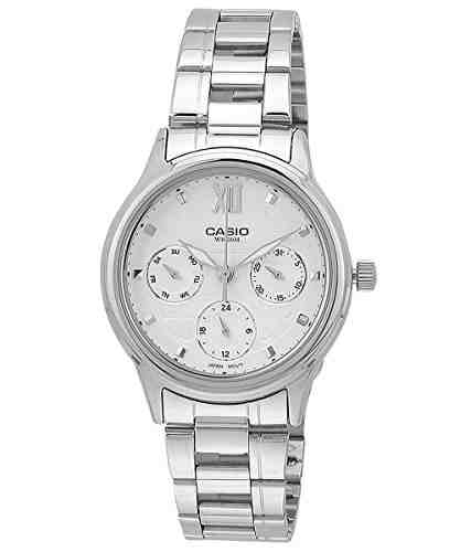 Casio Enticer LTP-E306D-7AVDF (A999) Analog White Dial Women's Watch