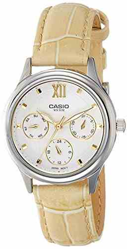 Casio Enticer LTP-E306L-7AVDF (A1001) Analog White Dial Women's Watch
