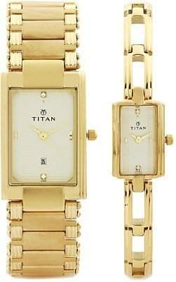 Titan 12342163YM02T Analog Watch